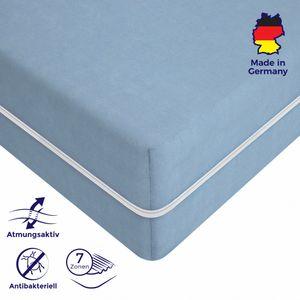 Kaltschaum-Matratze - 180 x 200 antiallergisch & abnehmbarer, waschbarer Bezug - Öko  - Tex Zertifikat