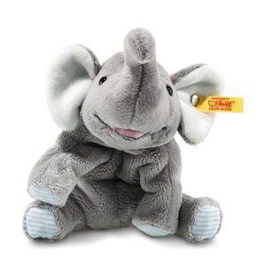 Steiff Trampili Elefant 16 grau liegend 281259