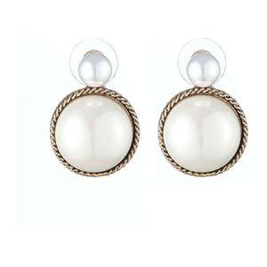 Mllaid Opal Ohrringe Europa und Amerika Ohrringe Böhmische Opal Runde Wasser Antike Gold Perlen Ohrringe
