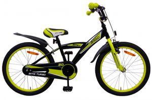 Amigo BMX Turbo - Kinderfahrrad für Jungen - Jungenfahrrad 20 zoll - Kinderfahrader ab 5-8 Jahre - Schwarz