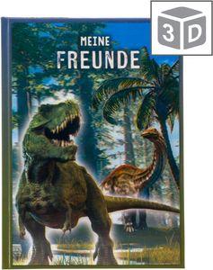 Goldbuch Freundebuch T-REX 3D, Hardcover, 88 Blätter, Junge, Mehrfarbig, 148 mm, 210 mm