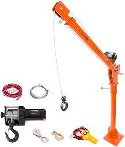 Elektrischer Hebekran - Fahrzeug-angebrachter Kran 12v 3000lb 500kg - Hochleistungsnashorn-Handkurbel