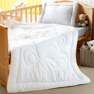 Kinderbetten Set Teddy 2-teilig - Kinderbettdecke 100x135 cm & Kopfkissen 40x60 cm
