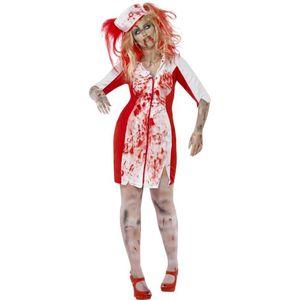 Halloween Damen Kostüm Zombie Krankenschwester Zombiekostüm Gr.L