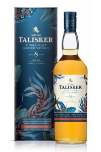 Talisker 8 Jahre Special Release 2020 Skye Single Malt Scotch Whisky 0,7l, alc. 57,9 Vol.-%
