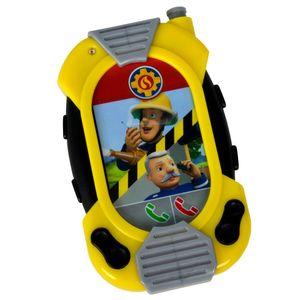 Feuerwehrmann Sam Messenger, Spielzeug-Infobildschirm