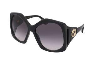 Gucci GG0875S Damen-Sonnenbrille mit Vollrand, Kunststoff