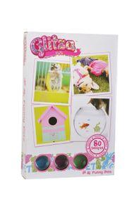 """GLITZA ART - """"Funny Pets"""" inkl. 80 Tattoos"""