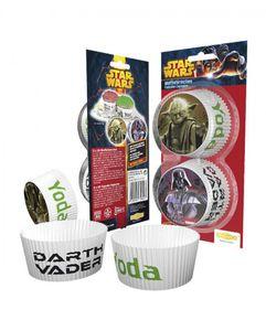 """50 Star Wars """"Krieg der Sterne"""" Muffin Papier-Förmchen"""