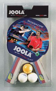JOOLA Set Rosskopf, Tischtennis-Schläger-Set