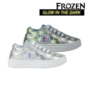 Kinderschuhe Sneaker Turnschuhe Frozen Eiskönigin Elsa 74351 Fußgröße 31