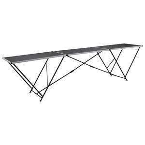 Tapeziertisch & Arbeitstisch & Universaltisch Klappbar MDF und Aluminium 300×60×78 cm☆7943