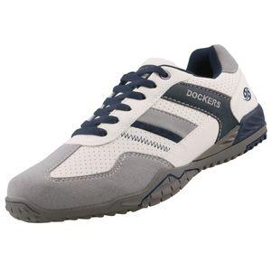 Dockers by Gerli Herren Sneaker Weiß, Braun, Schwarz, Schuhgröße:EUR 41, Farbe:Weißtöne