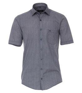 Casa Moda - Casual Fit  - Herren Freizeit 1/2-Arm-Hemd mit Kent Kragen (903448800), Größe:L, Farbe:Blau (100)