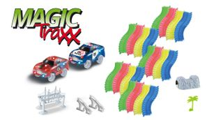 Magic Traxx Race Bahn 373-teilig, Transportbox