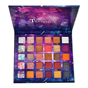 30 Farben Glitter Matte Lidschatten Palette Ultra Pigmented Makeup Lidschatten Beauty Tool Set