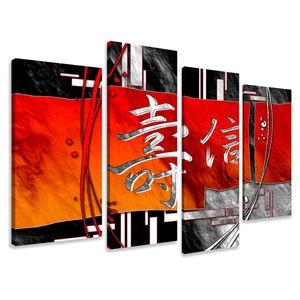 130 x 80 cm Bild auf Leinwand China 6170-VKF deutsche Marke und Lager  -   fertig gerahmt , exklusive Markenware von Visario