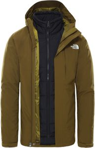 The North Face Syn Triclimate Isolierende Jacke Herren fir green/TNF black Größe L