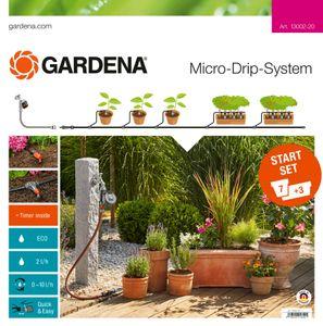 GARDENA Micro-Drip-System Start-Set Pflanztöpfe M automatic 13002-20