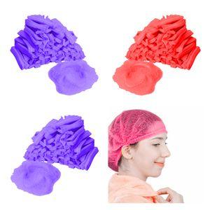300x Einweg Mob Kappe Staubdichte Hüte Kopfbedeckung Catering Industrial