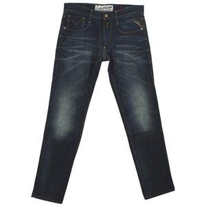 19801 Replay, Anbass Slim,  Herren Jeans Hose, Denim, darkblue used, W 29 L 32
