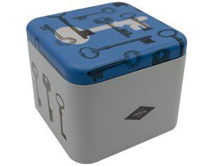 Fossil Design Uhrenbox Schmuckkasten aus Metall Unisex Geschenkbox