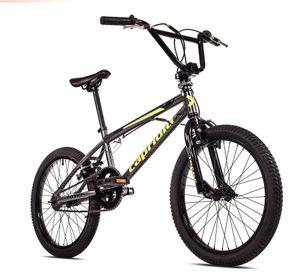 breluxx® 20 Zoll BMX TOTEM grau, 360° Rotor-System, Freestyle Freilauf - inkl. 4 Pegs,  EU