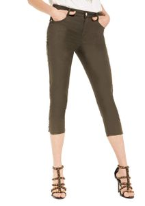 Comma Bermuda/Shorts Damen Hose 3/4 Größe 42, Farbe: 7986 Khaki