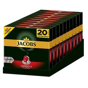 JACOBSLungo 6 Classico 200 Nespresso®* kompatible Kaffeekapseln