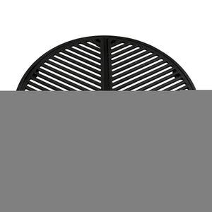 BBQ-Toro Gusseisen Plancha Set für 57 cm Kugelgrill   Grillrost und Grillplatte