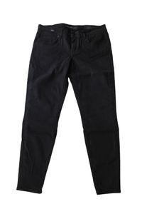 Drykorn Damen Skinny Jeans W30 L34 Low Rise Cropped Schwarz #CC71