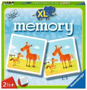 24 Karten Ravensburger Kinder Legekartenspiel Mein erstes XL memory Tiere 21122