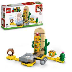 LEGO 71363 Super Mario Wüsten-Pokey – Erweiterungsset, Bauspiel