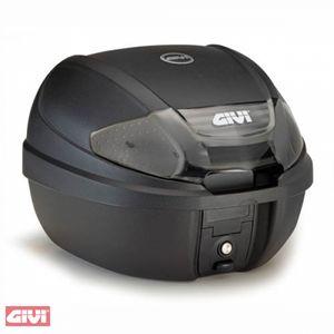 GiVi E300 Tech - Monolock Topcase mit Platte schwarz matt / Max Zuladung 3 kg