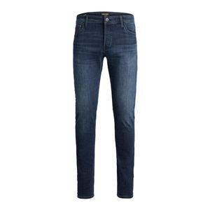 JACK & JONES JEANS NZGLENN Slim-Fit, Farbe:Blue Denim 812 / Dunkelblau, Hosengröße:W36/32