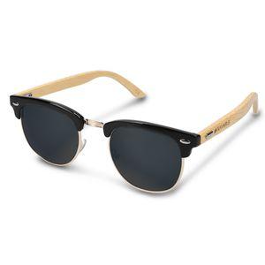 Navaris Sonnenbrille mit Holzbügeln