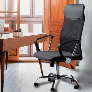 Bürostuhl Chefsessel Schreibtischstuhl Drehstuhl Netz-Stuhl Computerstuhl Chef zum Drehen,  Büro,Home-Office,