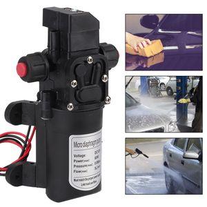 12V Druckwasserpumpe Selbstansaugende Wasserpumpe Hochdruck Automatik  Membranpumpe KFZ 5L/min 116psi