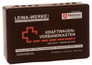 LEINA KFZ Verbandkasten Standard Inhalt DIN 13164 schwarz
