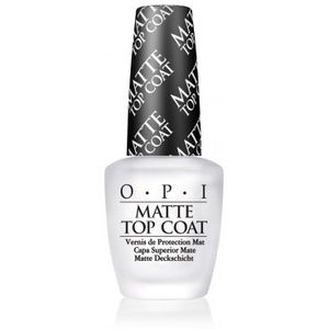 Opi Matte Top Coat 15ml  One Size