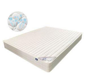 AMEROUS-Matratze 90x200x23cm, Federkernmatratze, 7-Zonen-Taschenfederkernmatratze, hohe Quali