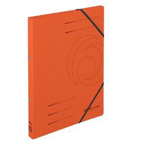 Herlitz Ringhefter easyorga A4 Karton 2-Ring-Mechanik orange