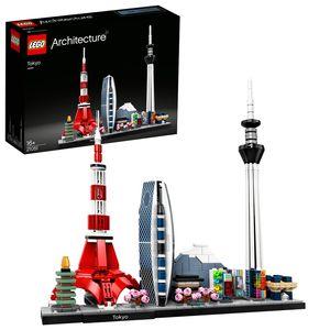 LEGO 21051 Architecture Tokio Skyline-Kollektion, Bauset für Jugendliche und Erwachsene