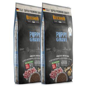 2 x 12,5 kg Belcando Puppy Gravy