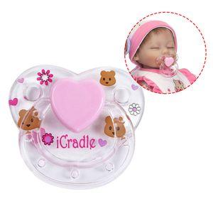 1 Stuecke Reborn Puppe Liefert Magnet Schnuller Reborns Babypuppen Zubeh?r zufällige Farbe