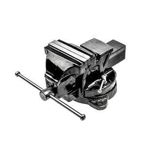 Schraubstock 100 mm 2095, gegossener Schraubstock mit Amboss und Drehteller