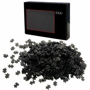 Puzzle 1000 Teile Schwarz Schwer | Erwachsenenpuzzle | Premiumpuzzle Geduldsspiel | Erwachsene Knobelspiel