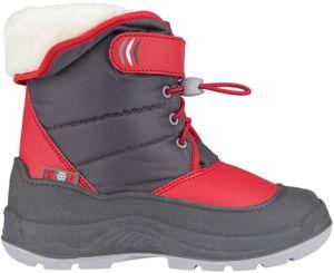 Winter-grip Kinder Schneestiefel Jr Hoppin´ Bieber Anthrazit/Rot/Grau Winter-Schuhe, Größe:34