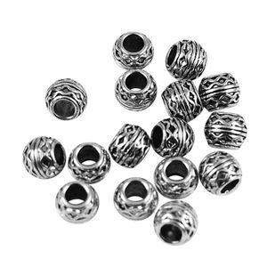 Metallperlen, Zierperlen, Kügelchen, Zwischenperlen, Bastelperlen, Set of 20Stück, Für Halsketten Schmuck DIY Handwerk
