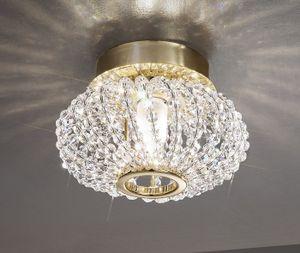 Kolarz Deckenleuchte Carla 24 Karat Gold Handarbeit, Italy,Made with KOLARZ Pure crystals